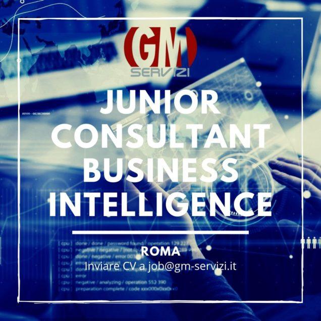 Junior Consultant Business Intelligence ROMA