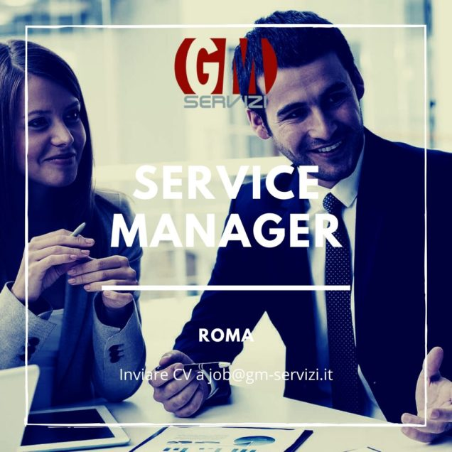 SERVICE MANAGER ROMA