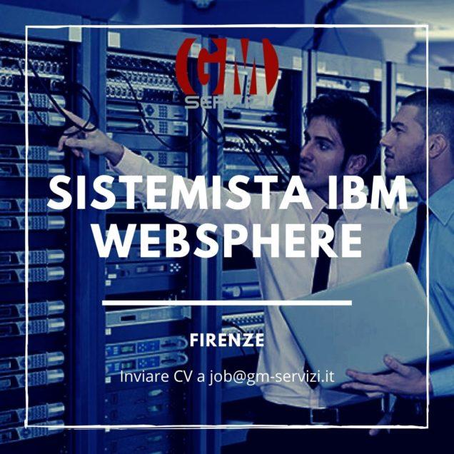 Sistemista IBM - WebSphere Firenze