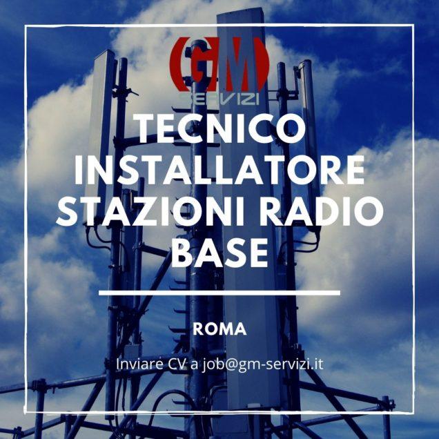 tecnico installatore stazioni radio base Roma