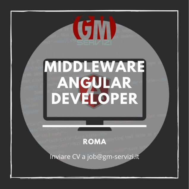 Middleware Angular Developer