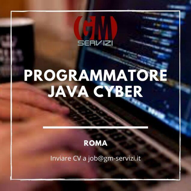 Programmatore Java Cyber
