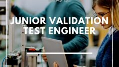 junior validation test engineer