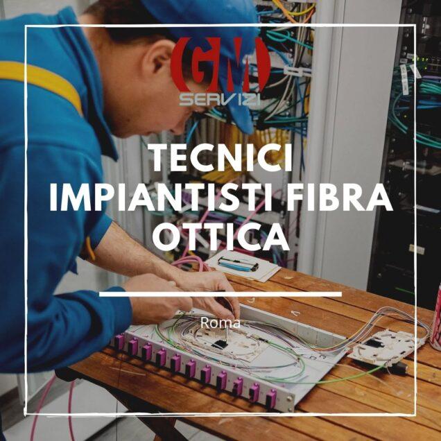 Tecnici impiantisti fibra ottica Roma