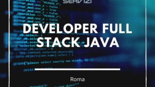 Developer Full Stack Java
