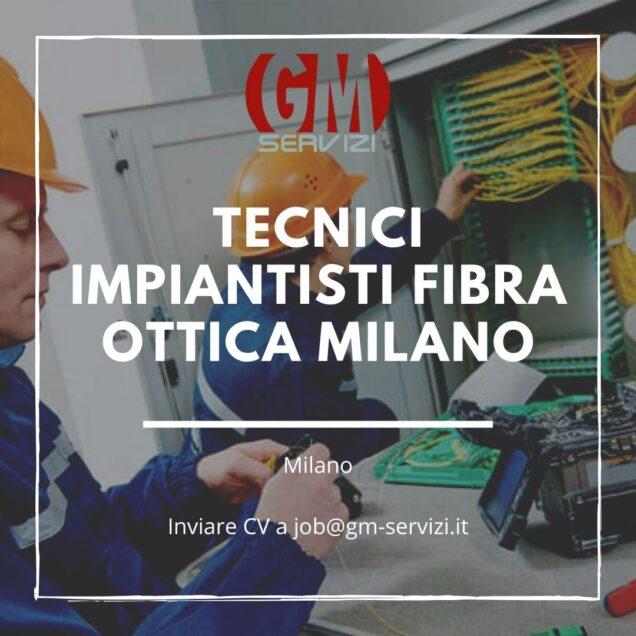 Tecnici impiantisti fibra ottica Milano