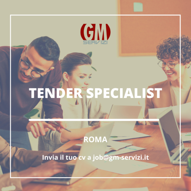 Tender Specialist