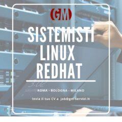 Sistemisti Linux RedHat