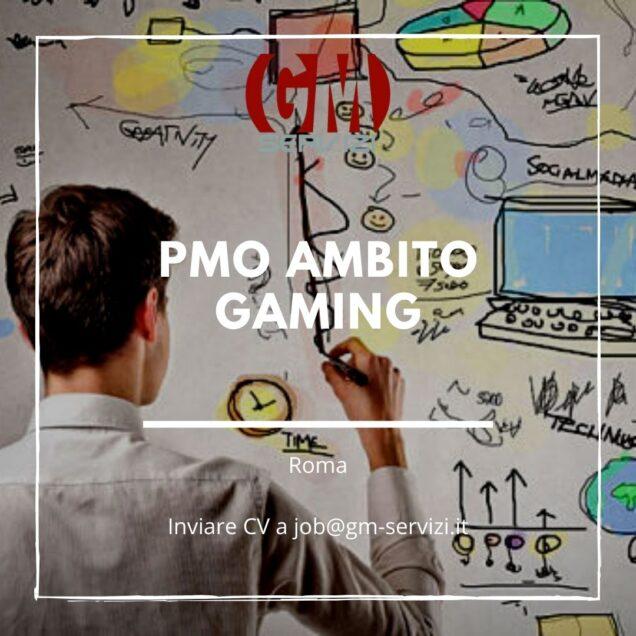 PMO ambito gaming Roma