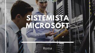 sistemista microsoft roma
