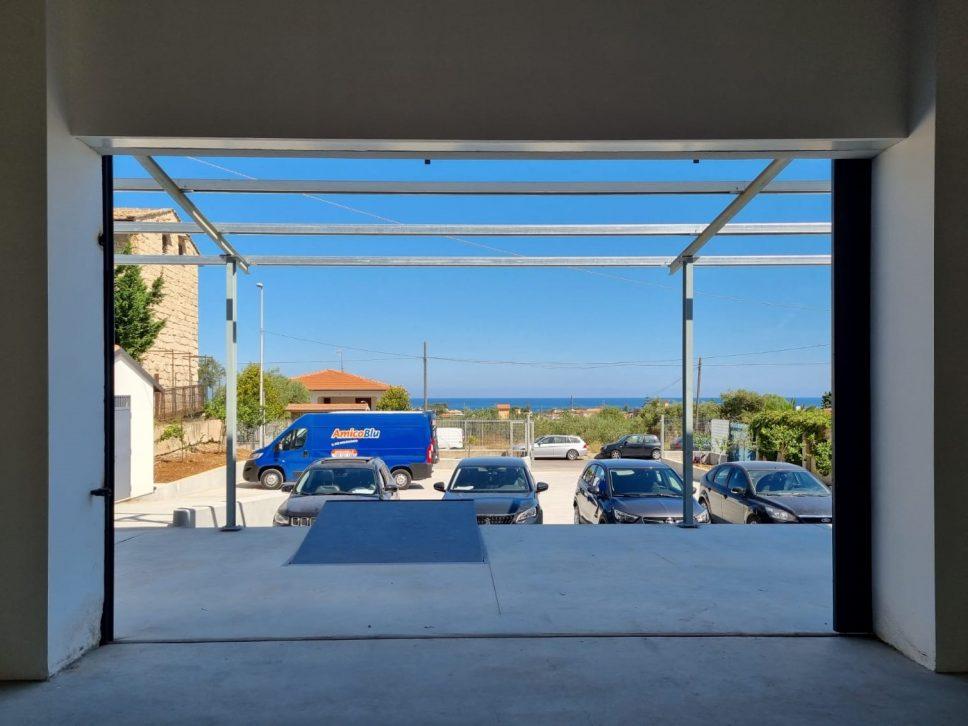 La nuova sede di GM Servizi in Sicilia, proprio di fronte al mare