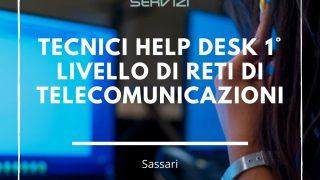 Tecnici Help Desk 1° livello di Reti di Telecomunicazioni