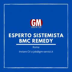 GM Servizi| posizione aperta Esperto Sistemista BMC REMEDY