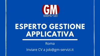 GM Servizi | posizione aperta esperto gestione applicativa