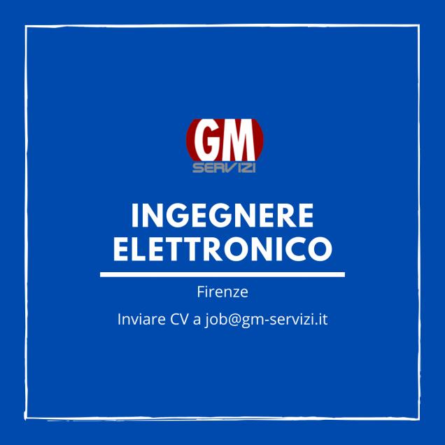 GM Servizi| posizione aperta ingegnere elettronico