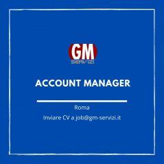 Posizione aperta: Account manager su Roma